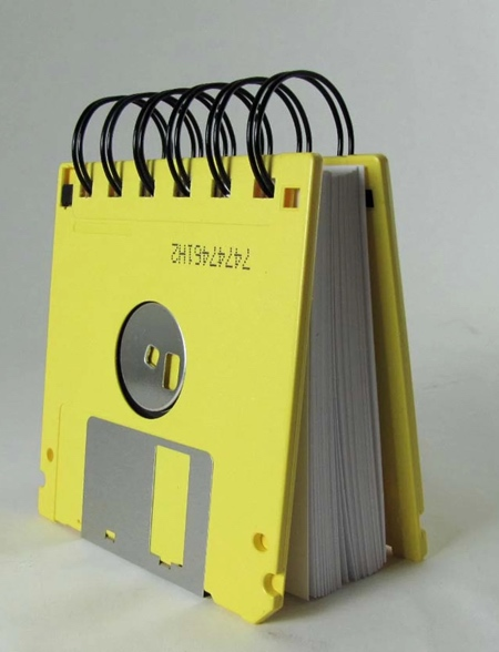 Floppy Diskette Notebook