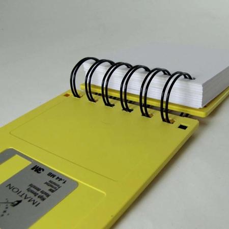 Diskette Notebook