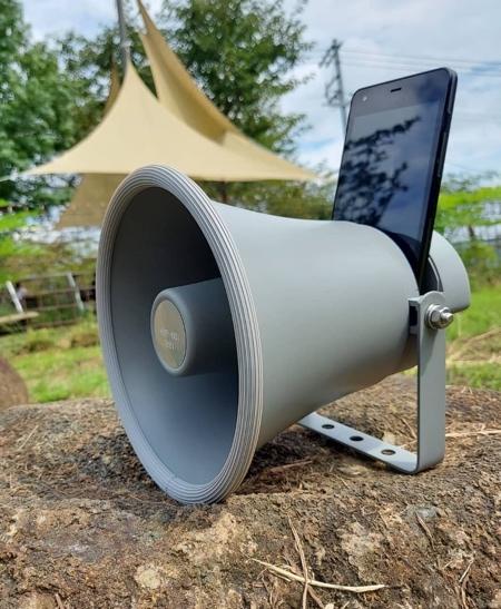 Horn Shaped iPhone Speaker