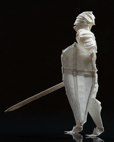 Knight Made of Paper