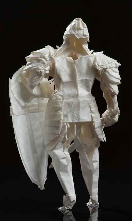 Juho Konkkola Origami Paper Knight