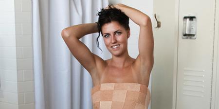 Pixelated Towel