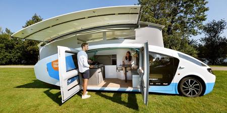 Solar House on Wheels