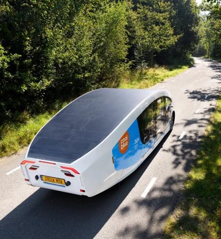 Solar Powered House on Wheels