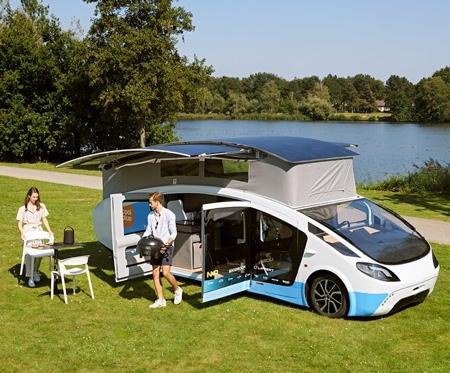 Solar Powered Mobile House