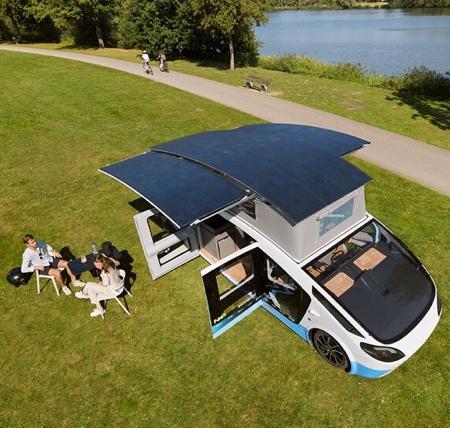 Solar Mobile House