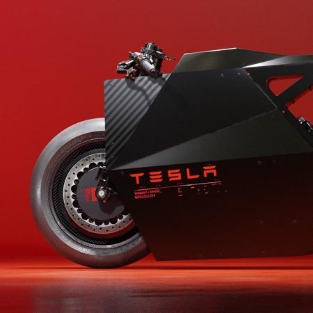 Tesla Electric Motorcycle