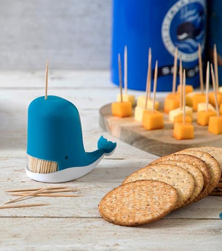 Whale Shaped Toothpick Dispenser