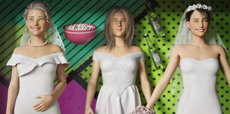 Friends Barbie Dolls