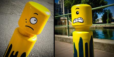 Le CyKlop LEGO Street Art