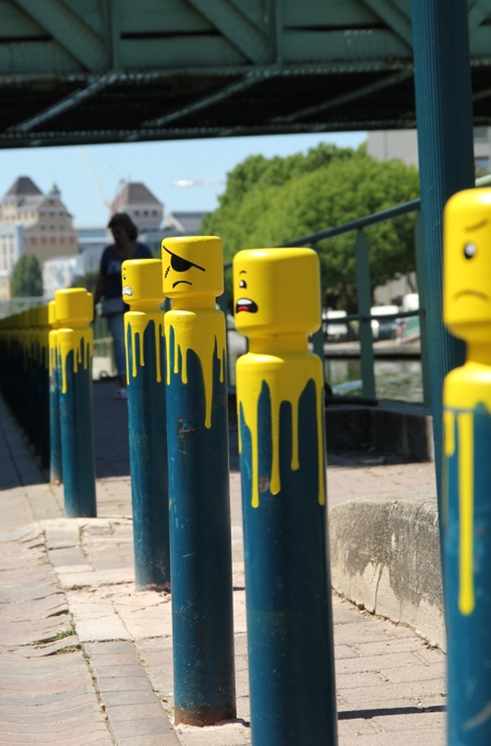 LEGO Cyclop Street Art