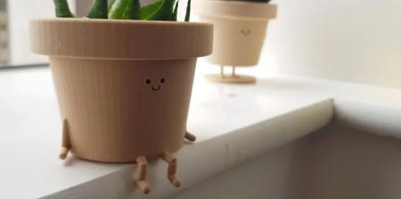 Sitting Plant Pot
